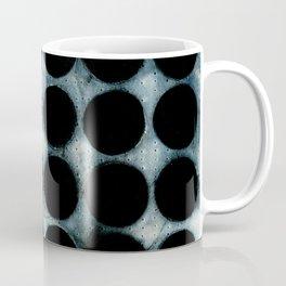 WATERCOLOUR DISCS: Indigo Coffee Mug