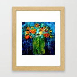 I don't want to be a flower pot! Framed Art Print