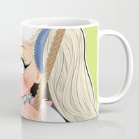 artrave Mugs featuring art rebellion  by Chimi-uzz