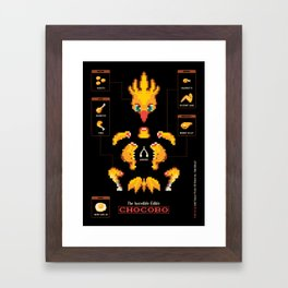 The Incredible, Edible Chocobo Framed Art Print