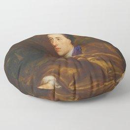 Alexander Pope by Jonathan Richardson (1738) Floor Pillow