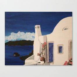 Greece Getaway  Canvas Print
