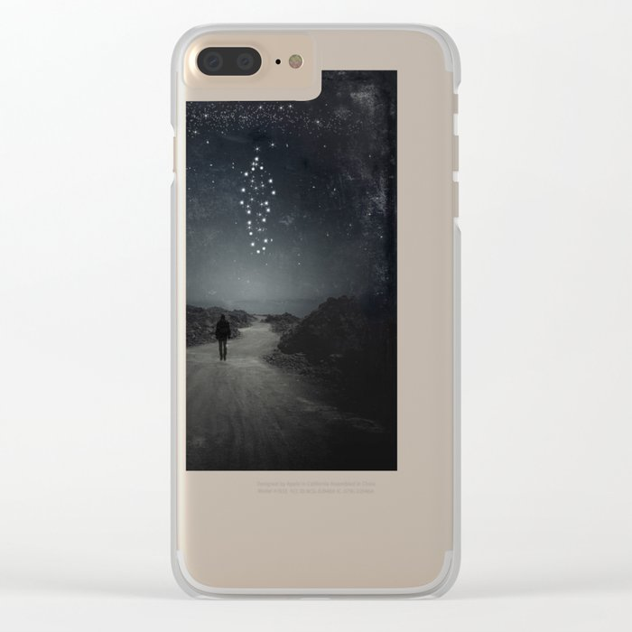 stArman Clear iPhone Case