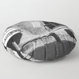 Hose Reel Fire Hose Floor Pillow