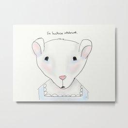 miss mouse Metal Print