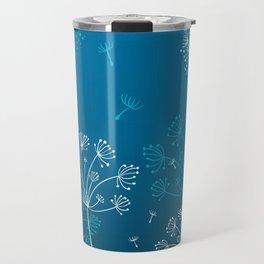 Night dandelions Travel Mug