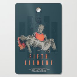 The fifth element Cutting Board