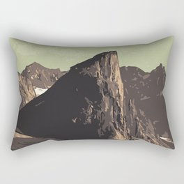 Auyuittuq National Park Rectangular Pillow
