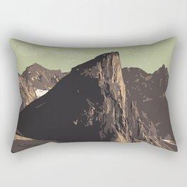 Auyuittuq National Park Rectangular Pillow