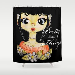 Little Lady B Shower Curtain