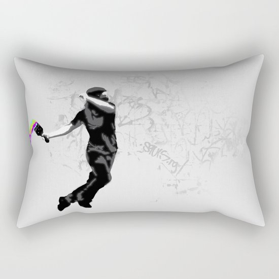 We need more color! Rectangular Pillow