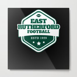 Football East Rutherford Metal Print