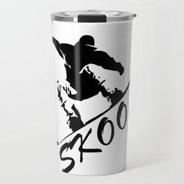 Boarding Skool -Snowboarding Travel Mug