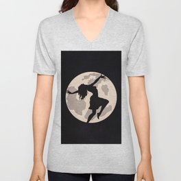 Dancing In The Moonlight Unisex V-Neck