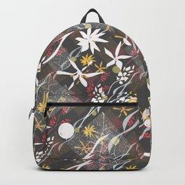 Flower ornament Backpack
