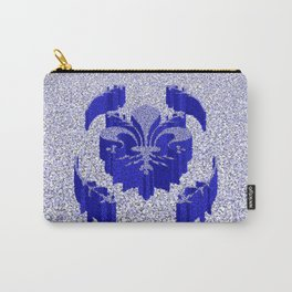 Florentine Blue Garden Carry-All Pouch