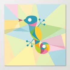 Kaleidoscope Lizard Canvas Print
