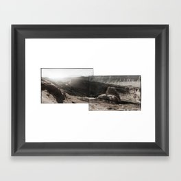 Utah Desert Dawn Framed Art Print