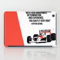 senna iPad Cases featuring Senna Inspriation by MDBDESIGN.