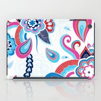henna iPad Cases featuring Henna Colourful by nicky9