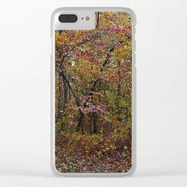Rustic Rescue Clear iPhone Case