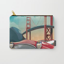 San Francisco Golden Sunset Carry-All Pouch
