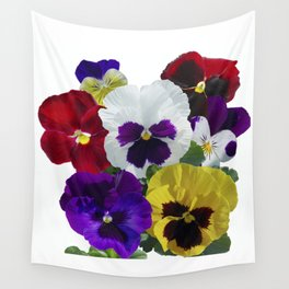 Pansies! Wall Tapestry