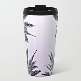 4 Palms in Purple Travel Mug