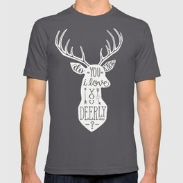 I LOVE YOU DEER T-shirt