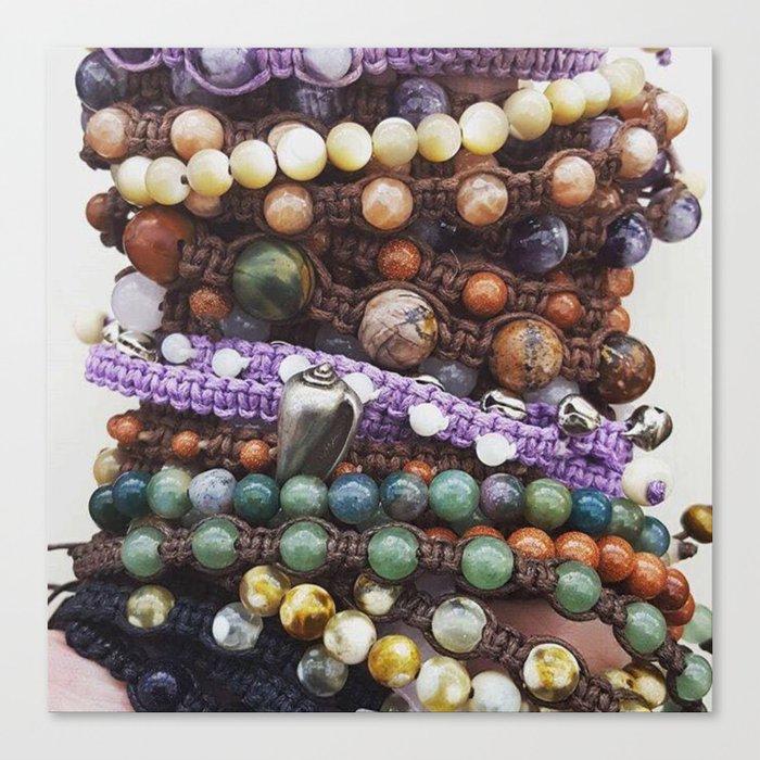 Beaded_Bracelets_Canvas_Print_by_kurio
