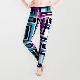 Rainbow Geometric Leggings