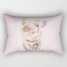 Baby Piggy Rectangular Pillow