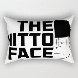 The nitto face Rectangular Pillow