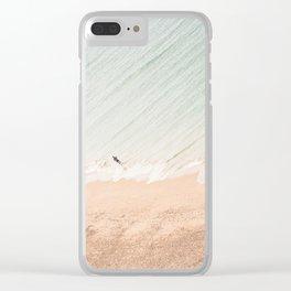 Atlantic Ocean Clear iPhone Case