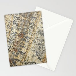 Fossil mint sandstone Stationery Cards