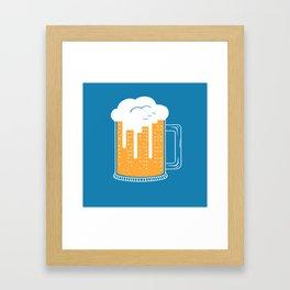 City Beer Framed Art Print
