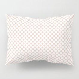 Pale Dogwood Polka Dots Pillow Sham