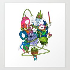 Adventure Time fan art celebration! Art Print