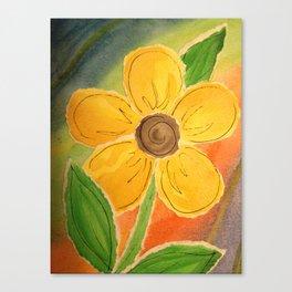 Paper Buttercup Canvas Print