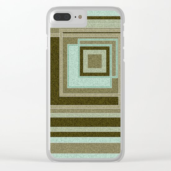 Abstraction . Geometric shapes . 1 Clear iPhone Case