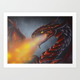 reddragon Art Print