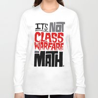 math Long Sleeve T-shirts featuring It's Math by Chris Piascik