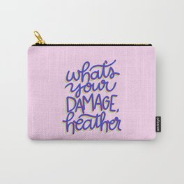 What's Your Damage? Carry-All Pouch