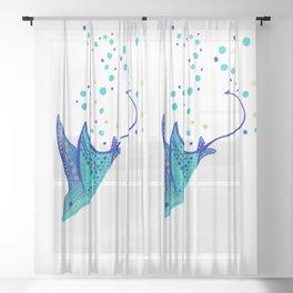 Neptune's Ray Sheer Curtain