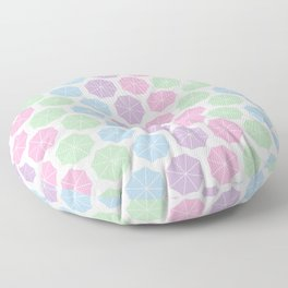 Pastel Kind o Day Floor Pillow
