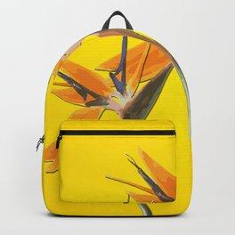 strelitzia - Bird of Paradise Flowers II Backpack