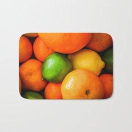 Oranges Lemons & Limes Bath Mat