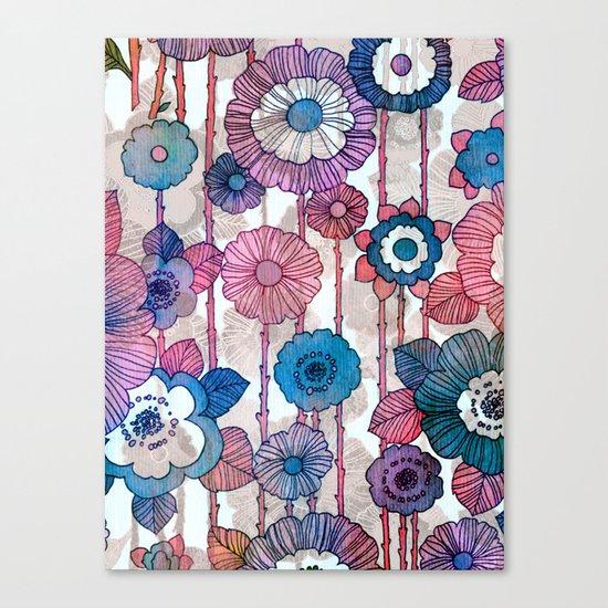Hanging Flower Garland Canvas Print