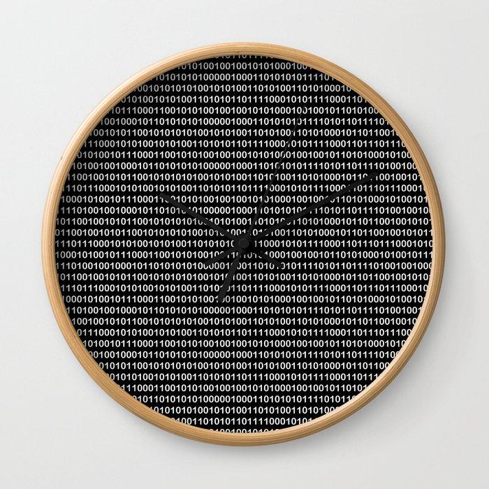 Binary Code in DOS Wall Clock