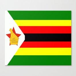 Flag of Zimbabwe Canvas Print